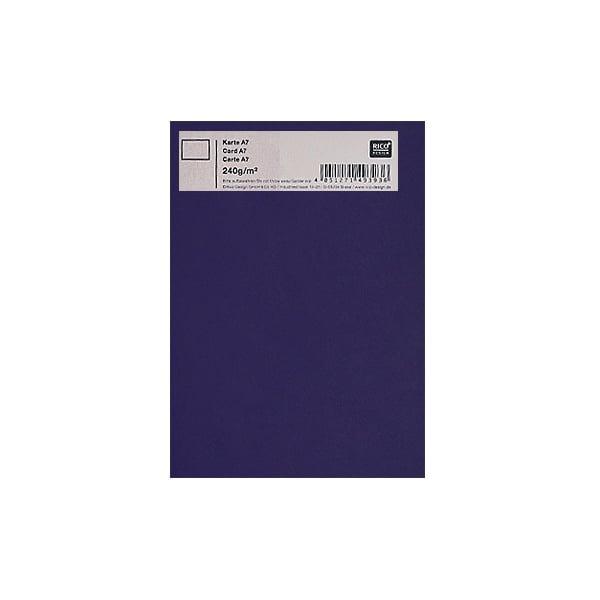Картичка цветен картон RicoDesign, PAPER POETRY, А7 Картичка цветен картон RicoDesign, PAPER POETRY, А7, 240g, AUBERGINE