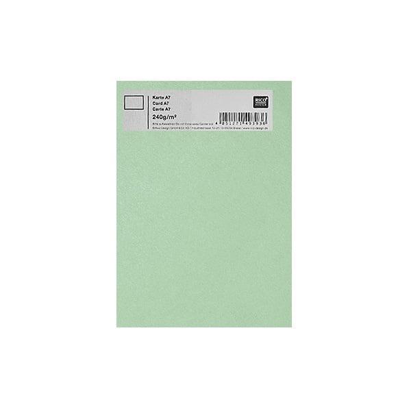 Картичка цветен картон RicoDesign, PAPER POETRY, А7 Картичка цветен картон RicoDesign, PAPER POETRY, А7, 240g, LINDGRUEN