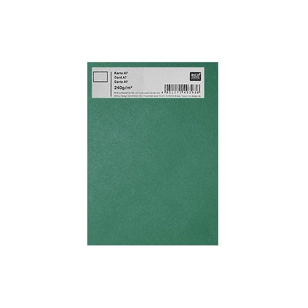 Картичка цветен картон RicoDesign, PAPER POETRY, А7 Картичка цветен картон RicoDesign, PAPER POETRY, А7, 240g, DUN.GRUEN