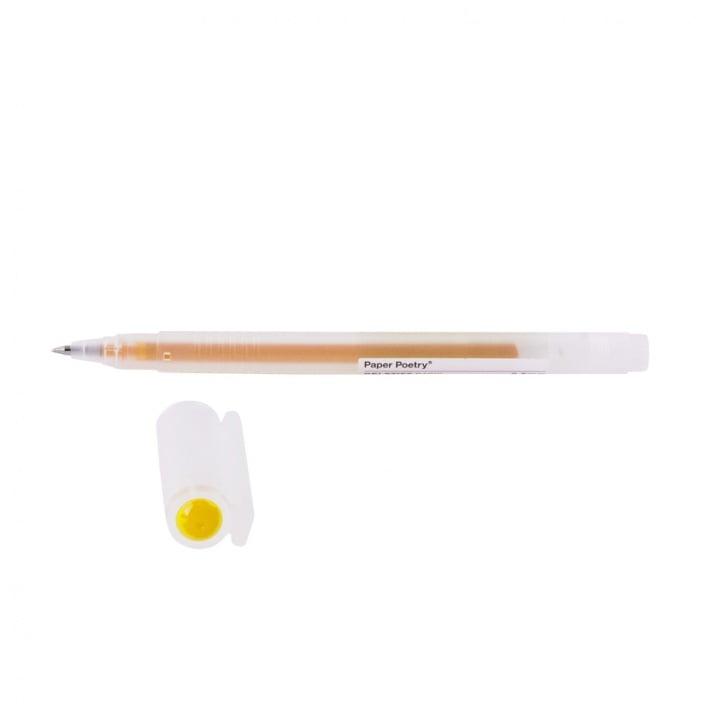 Гел химикал, 0,5 mm, основен цвят Гел химикал, 0,5 mm, жълт