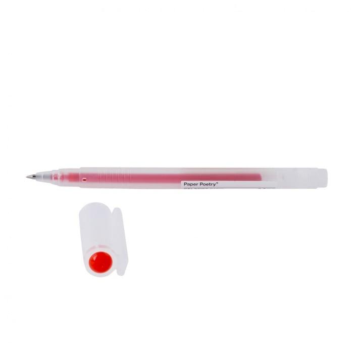 Гел химикал, 0,5 mm, основен цвят Гел химикал, 0,5 mm, червен