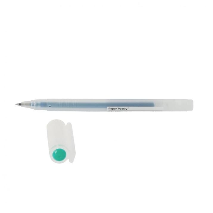 Гел химикал, 0,5 mm, основен цвят Гел химикал, 0,5 mm, синьо-зелен
