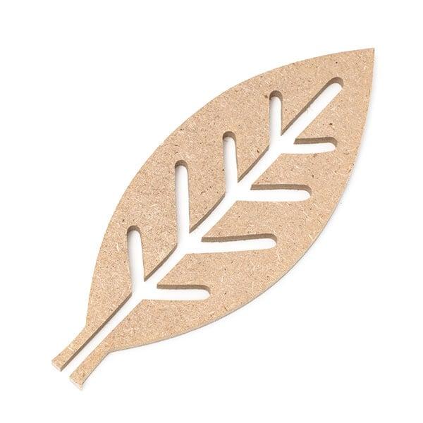 Декоративна фигура RicoDesign, ЛИСТ/ВЛАКНА МИНИ, MDF, 4.5/11.5/0.5 cm