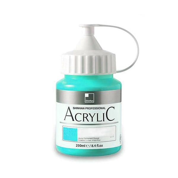 Акрилни бои ARTISTS' ACRYLIC Акрилна боя ARTISTS' ACRYLIC, 250 ml, Bright Aqua Green