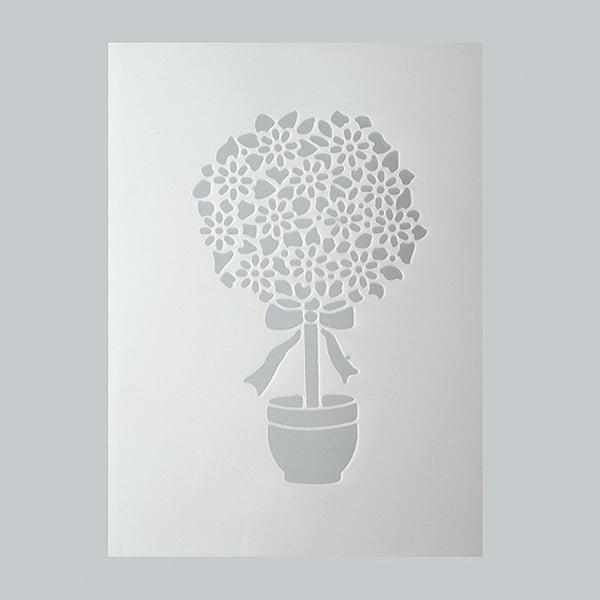 Шаблони за декорация  Шаблон, цветя, 1 част, DIN A5