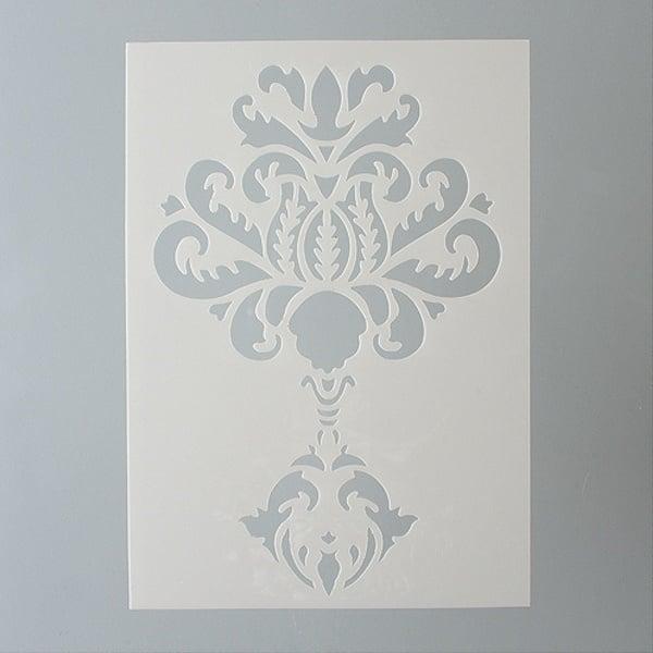Шаблони за декорация  Шаблон, орнамент, 1 част, DIN A5