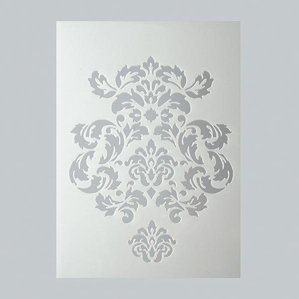Шаблони за декорация  Шаблон, орнаменти, 2 части, DIN A5