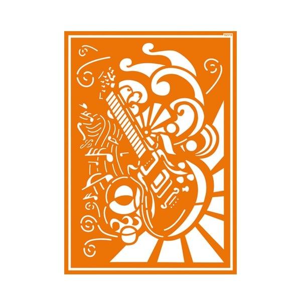 Шаблон за текстил самозахващащ се JAVANA Шаблон за текстил самозахващащ се JAVANA, Rock'n Roll