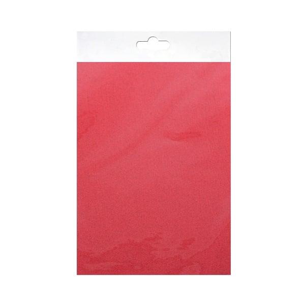 Шифонен шал от естествена коприна, Chiffon, 55 x 180 mm, червен