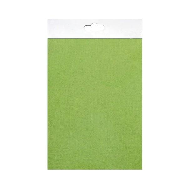 Шифонен шал от естествена коприна, Chiffon, 55 x 180 mm, светло зелен