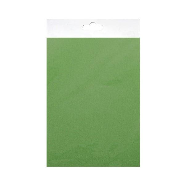 Шифонен шал от естествена коприна, Chiffon, 55 x 180 mm, зелен