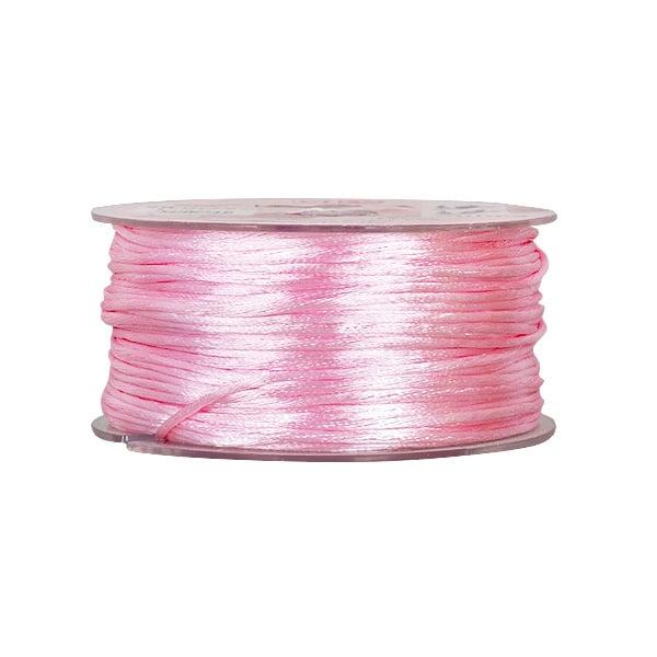 Сплетен шнур, сатен, 1.5 mm, 50 м. ролка Сплетен шнур, сатен, 1.5 mm ,50 м. ролка, роза