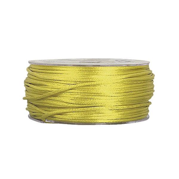 Сплетен шнур, сатен, 1.5 mm, 50 м. ролка Сплетен шнур, сатен, 1.5 mm, 50 м. ролка, зелен