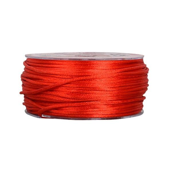 Сплетен шнур, сатен, 2 mm, 50 м. ролка