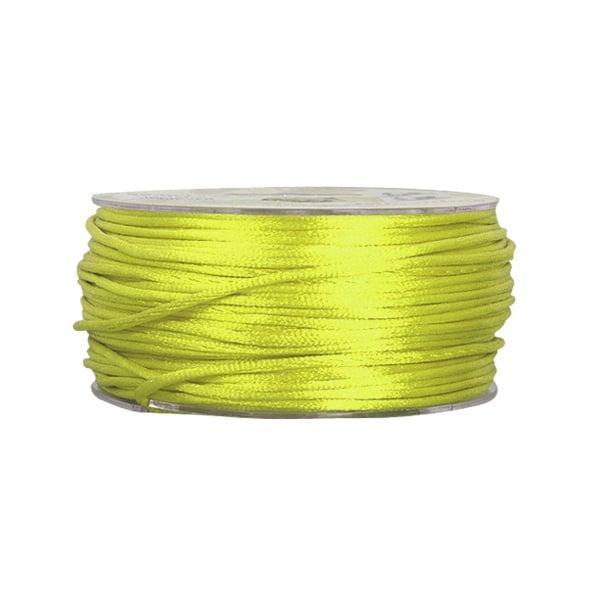 Сплетен шнур, сатен, 2 mm, 50 м. ролка Сплетен шнур, сатен, 2 mm, 50 м. ролка, светло зелен