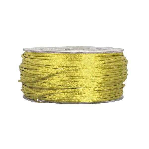 Сплетен шнур, сатен, 2 mm, 50 м. ролка Сплетен шнур, сатен, 2 mm, 50 м. ролка, зелен