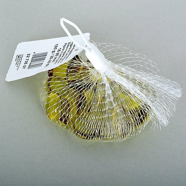 Стъклени камъчета, Glas-Nuggets, 18-20 MM, 100 G / 20-30 БР. Стъклени камъчета, Glas-Nuggets, 18-20 mm, 100 g / 20-30 бр., преливащи цветове, жълти