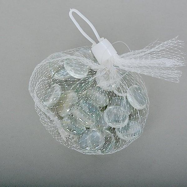 Стъклени камъчета, Glas-Nuggets, 18-20 MM, 100 G / 20-30 БР. Стъклени камъчета, Glas-Nuggets, 18-20 mm, 100 g / 20-30 бр.,кристални