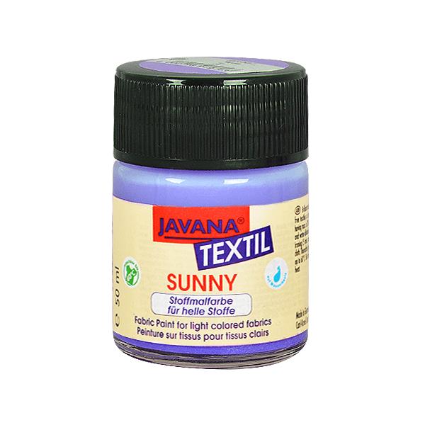 Текстилна боя, Sunny JAVANA, 50 ml /за светла основа/ Текстилна боя SYNNY JAVANA, 50 ml, лавандула