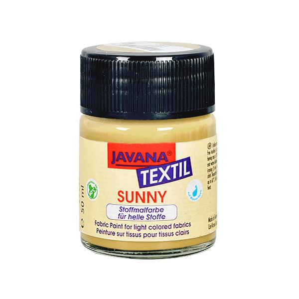 Текстилна боя, Sunny JAVANA, 50 ml /за светла основа/ Текстилна боя SYNNY JAVANA, 50 ml, слонова кост
