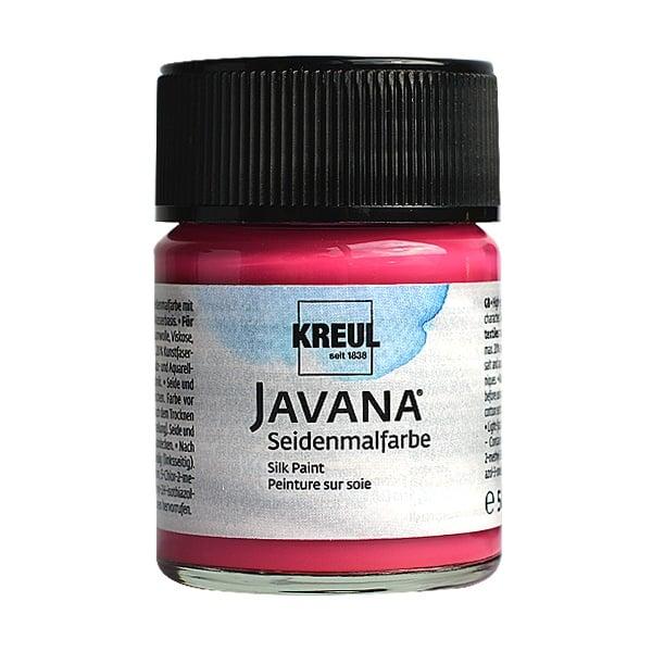 Текстилна боя за коприна SILK JAVANA, 50ml Текстилна боя за коприна SILK JAVANA, 50ml, розова
