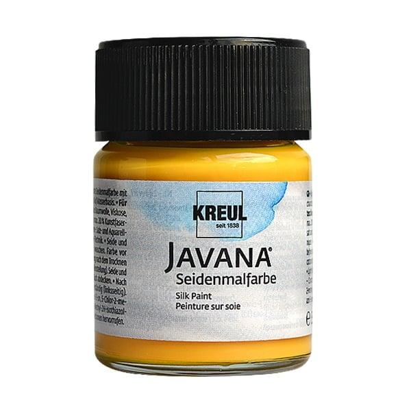 Текстилна боя за коприна SILK JAVANA, 50ml Текстилна боя за коприна SILK JAVANA, 50ml, тъмно жълта