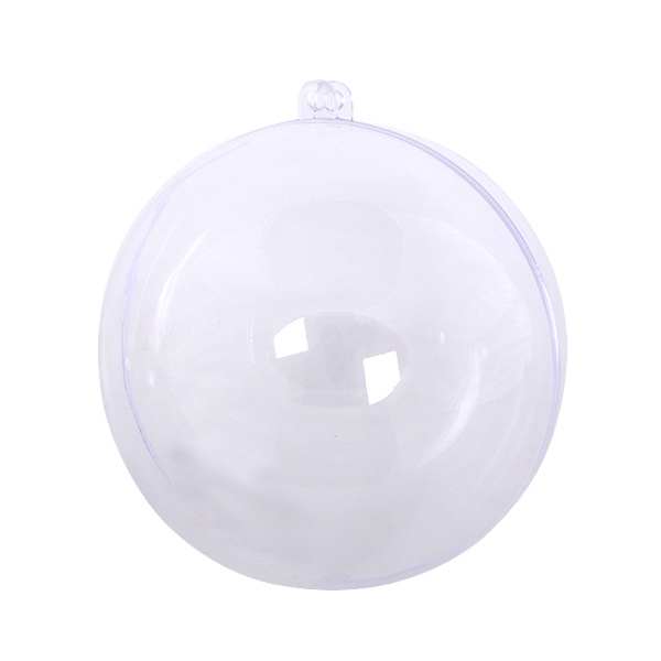 Топка от пластмаса, ф 120 mm, прозрачна