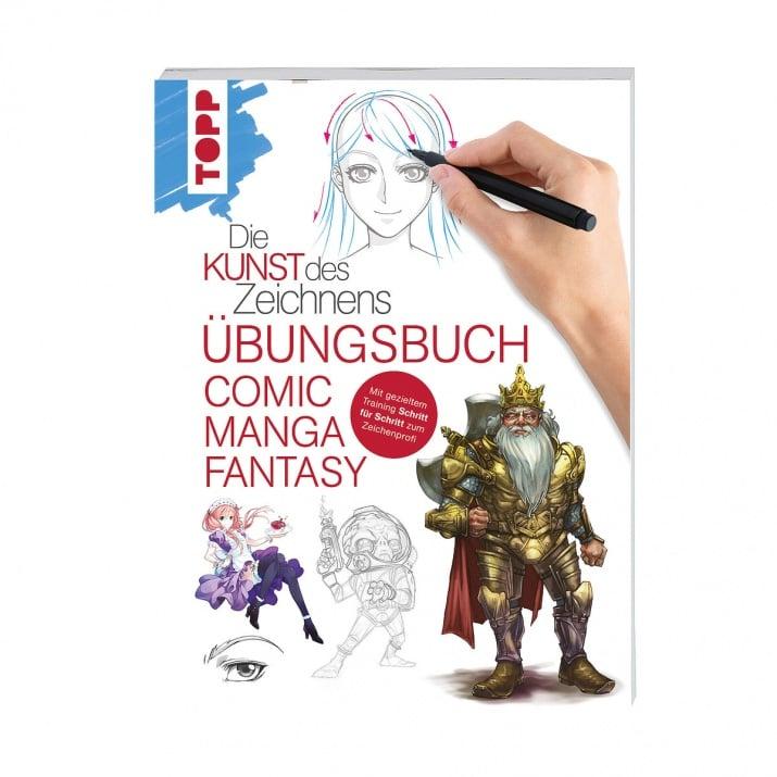 Книга техн. Литература, Die Kunst des Zeichnens - Comic Manga Fantasy