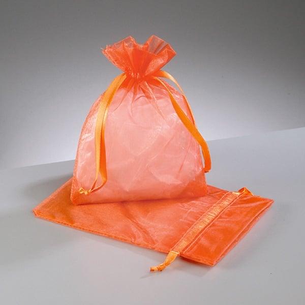 Торбичка от органза, 12,5 x 17 cm Торбичка от органза, 12,5 x 17 cm, оранжева
