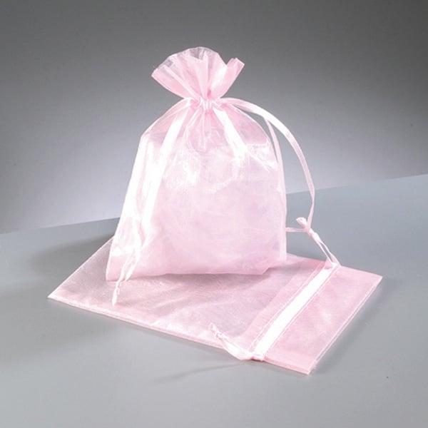 Торбичка от органза, 12,5 x 17 cm Торбичка от органза, 12,5 x 17 cm, роза
