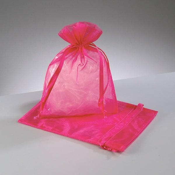 Торбичка от органза, 12,5 x 17 cm Торбичка от органза, 12,5 x 17 cm, розово