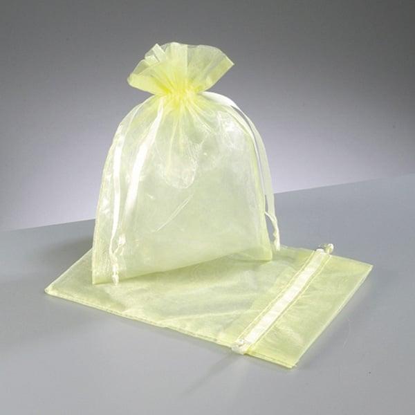 Торбичка от органза, 12,5 x 17 cm Торбичка от органза, 12,5 x 17 cm, светло жълта