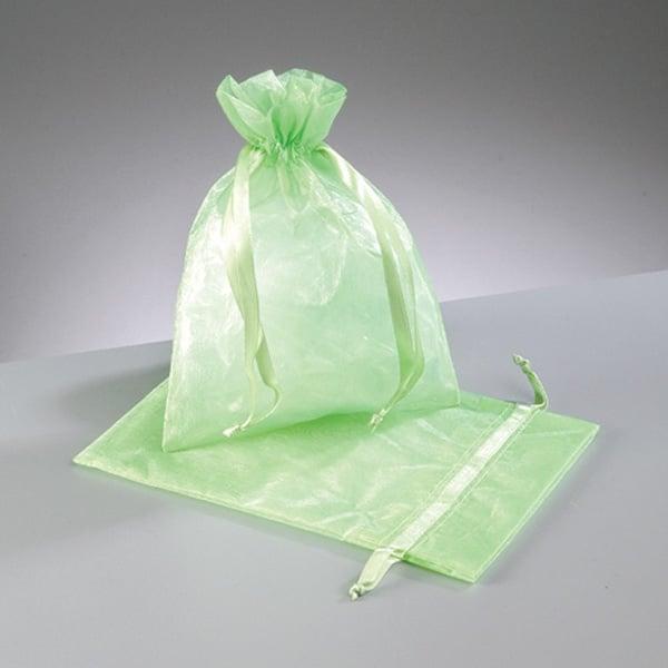 Торбичка от органза, 12,5 x 17 cm Торбичка от органза, 12,5 x 17 cm, светло зелено