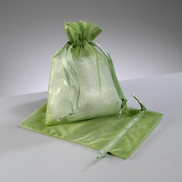 Торбичка от органза, 12,5 x 17 cm Торбичка от органза, 12,5 x 17 cm, зелено