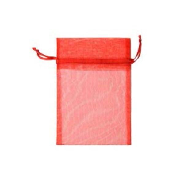 Торбичка подаръчна шифон, 15 X 24 cm Торбичка подаръчна шифон, 12 x 17 cm, червена