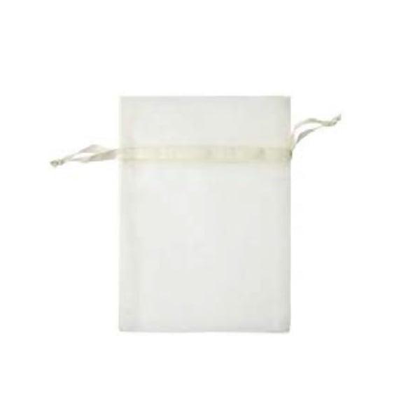 Торбичка подаръчна шифон, 15 X 24 cm Торбичка подаръчна шифон, 12 x 17 cm, кремава