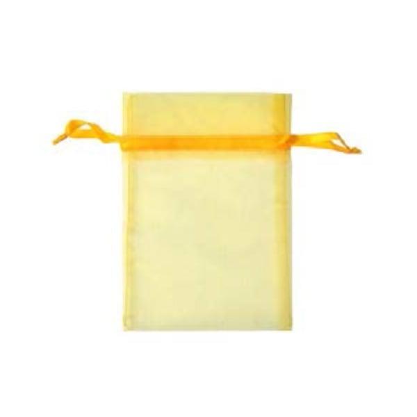 Торбичка подаръчна шифон, 15 X 24 cm Торбичка подаръчна шифон, 12 x 17 cm, лимонено жълта