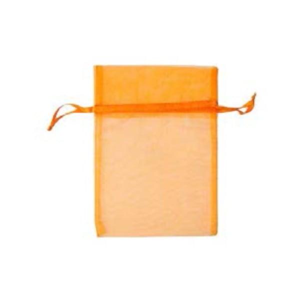 Торбичка подаръчна шифон, 15 X 24 cm Торбичка подаръчна шифон, 12 x 17 cm, оранжева