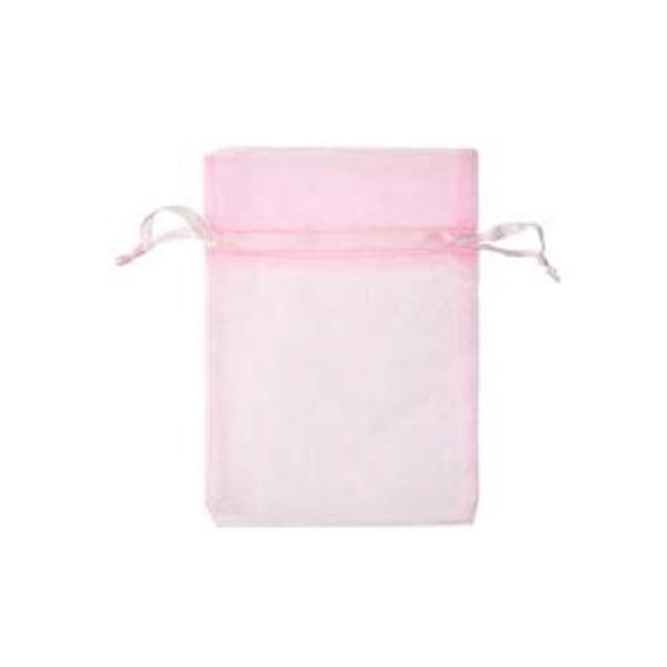 Торбичка подаръчна шифон, 15 X 24 cm Торбичка подаръчна шифон, 12 x 17 cm, роза