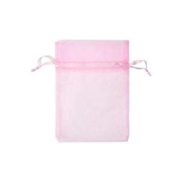 Торбичка подаръчна шифон, 15 X 24 cm Торбичка подаръчна шифон, 12 x 17 cm, розова