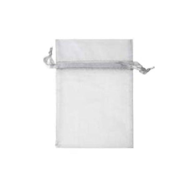 Торбичка подаръчна шифон, 15 X 24 cm Торбичка подаръчна шифон, 12 x 17 cm, сиво сребриста