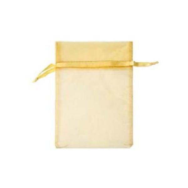 Торбичка подаръчна шифон, 15 X 24 cm Торбичка подаръчна шифон, 12 x 17 cm, слънчево жълта