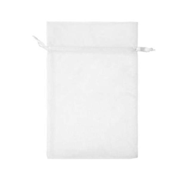 Торбичка подаръчна шифон, 15 X 24 cm Торбичка подаръчна шифон, 15 X 24 cm, бяла