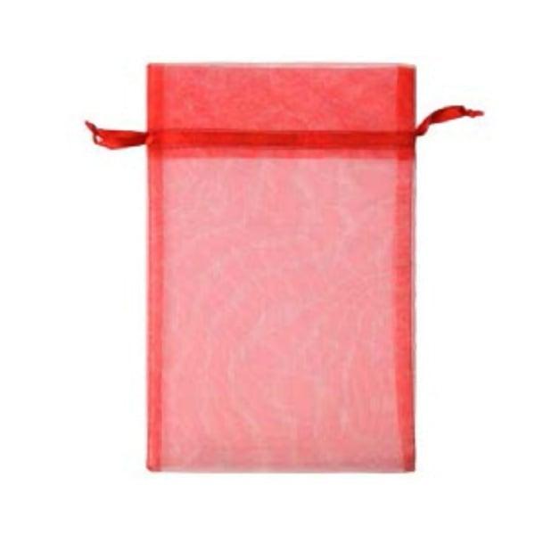 Торбичка подаръчна шифон, 15 X 24 cm Торбичка подаръчна шифон, 15 X 24 cm, червена