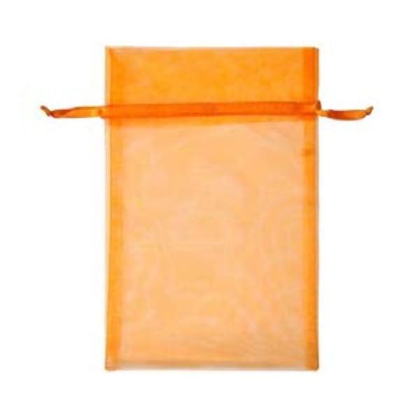 Торбичка подаръчна шифон, 15 X 24 cm Торбичка подаръчна шифон, 15 X 24 cm, оранжева