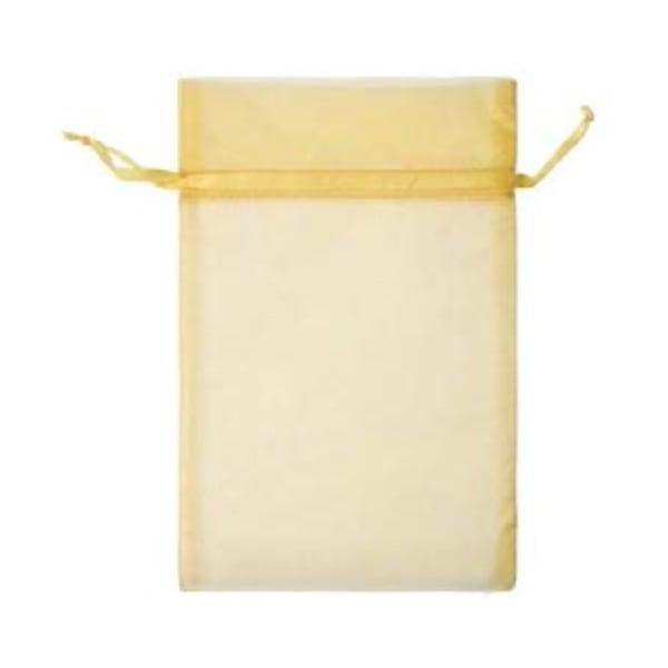 Торбичка подаръчна шифон, 15 X 24 cm Торбичка подаръчна шифон, 15 X 24 cm, слънчево жълта
