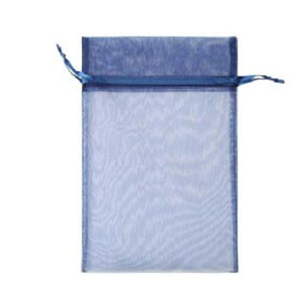 Торбичка подаръчна шифон, 15 X 24 cm Торбичка подаръчна шифон, 15 X 24 cm, тъмно синя