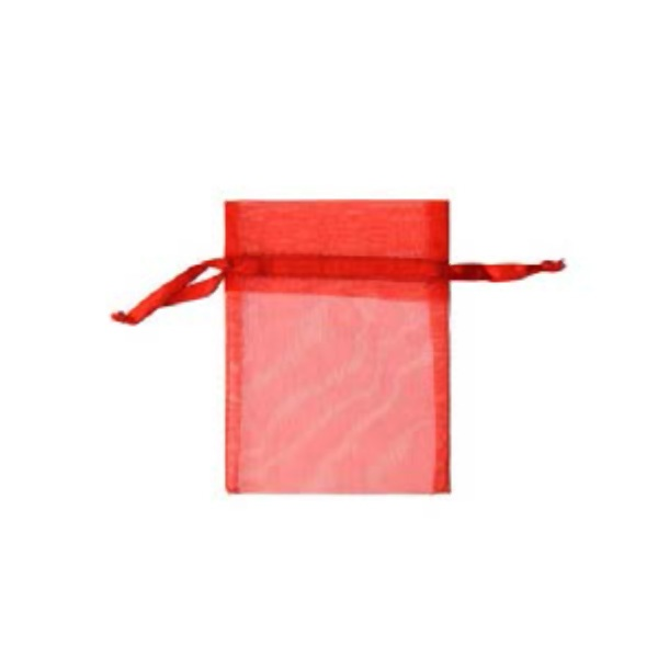 Торбичка подаръчна шифон, 15 X 24 cm Торбичка подаръчна шифон, 9 x 12 cm, червена