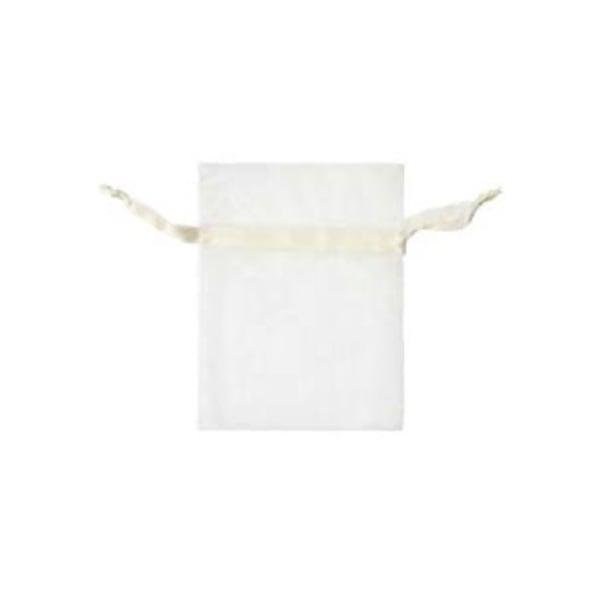 Торбичка подаръчна шифон, 15 X 24 cm Торбичка подаръчна шифон, 9 x 12 cm, кремава