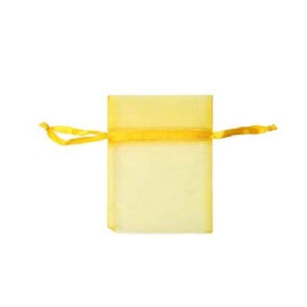 Торбичка подаръчна шифон, 15 X 24 cm Торбичка подаръчна шифон, 9 x 12 cm, лимонено жълта